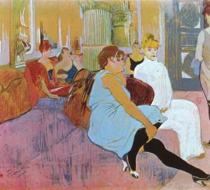 130520_BEBOP_Conheça-o-artista-–-Henri-de-Toulouse-Lautrec-04-Salao-na-Rue-des-Moulins-1894-estudo-pastel