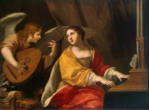 Blanchard_Jacques- pintor barroco frances -1600-1638-St_Cecilia