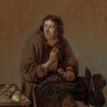 Abraham_Diepraam_-_a_cobbler_at_work