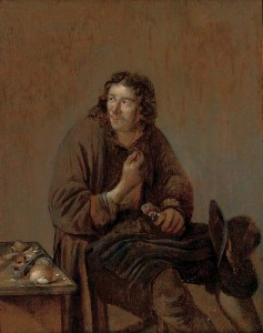 Abraham_Diepraam_-_a_cobbler_at_work