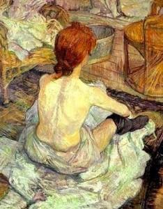 A Ruiva - Toulouse Lautrec