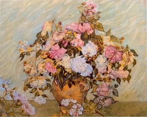 Jarron-con-rosas-Van-Gogh-1890