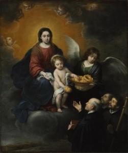 Bartolome Esteban Murillo Date: Oil on canvas 219x182 cm