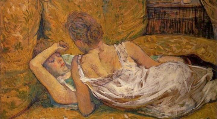"""""""""""Les Deux Amies (L'abandon)"""" (1895), Henri de Toulouse-Lautrec"""