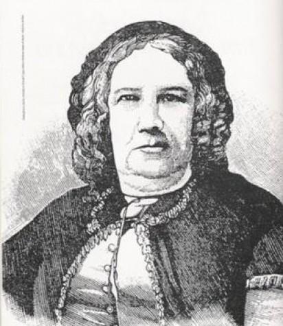 Nísia Floresta, educadora e escritora nascida em 1809 no Rio Grande do Norte