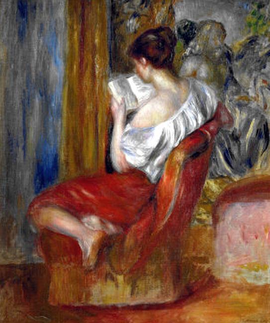 A Leitora - Renoir
