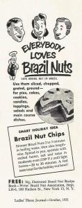 Brazil nut anuncio em revista