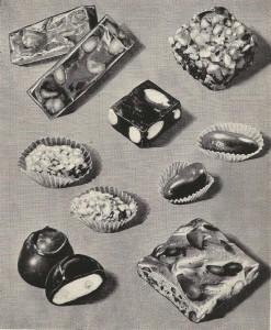 Brazil nut doces