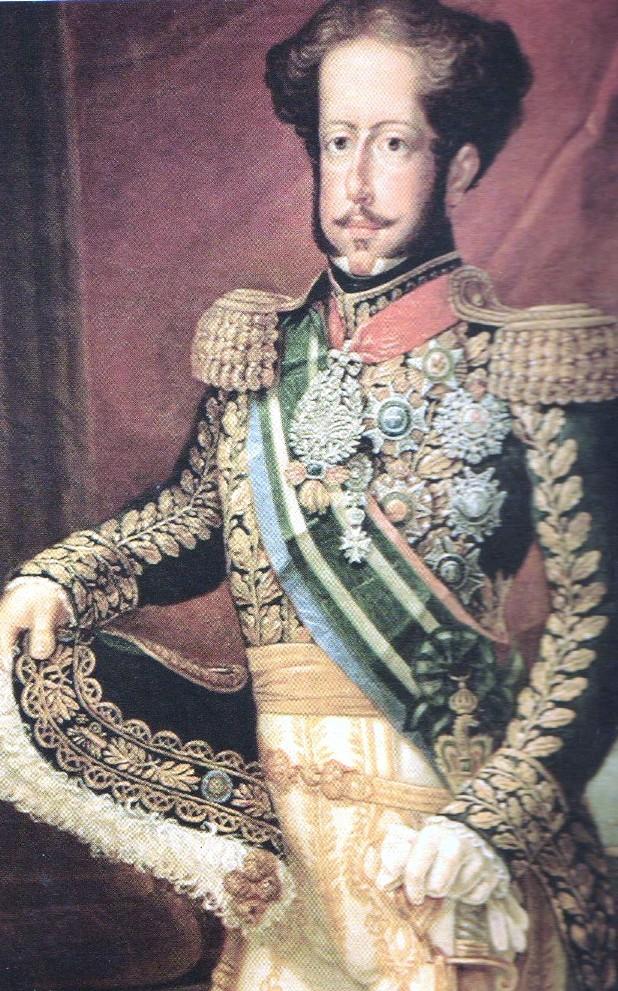 Em 7 de abril de 1831, D. Pedro apresentou a carta de abdicação