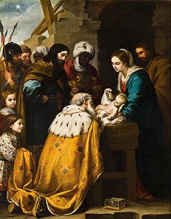 Adoração dos Magos, de Bartolomé Esteban Murillo.