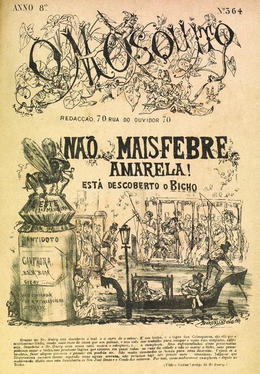 cartaz febre amarela- Arquivo Nacional