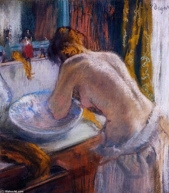 """""""La toilette"""", de Edgar Degas"""