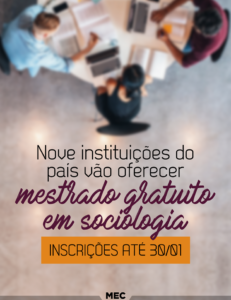 MEC - mestrado em Sociologia