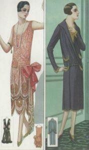 moda anos 20