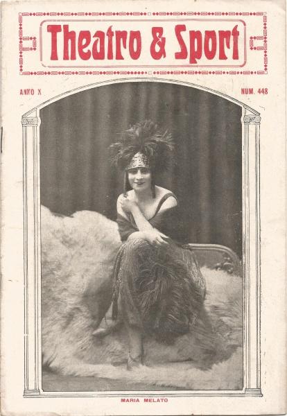 Revista Theatro & Sport. Anno X. Nº 448. 1923