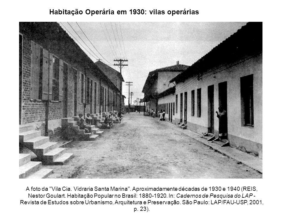 Vilas operárias SP