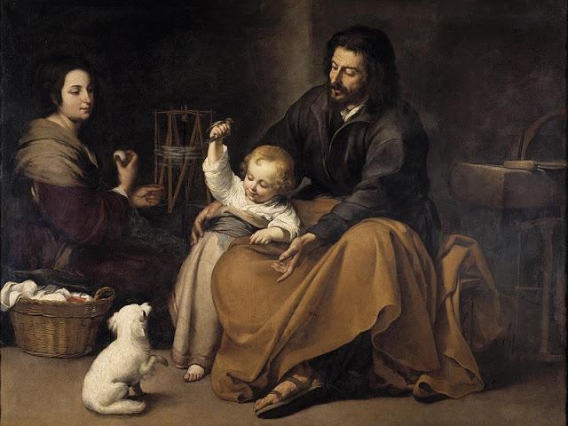 Murillo: A sagrada família