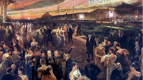 Último baile da Ilha Fiscal, retratado por Francisco Figueiredo