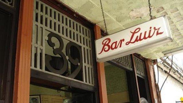 Bar Luiz, no Rio de Janeiro. Foto: Divulgação