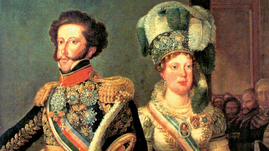Dom Pedro I e Dona Leopoldina