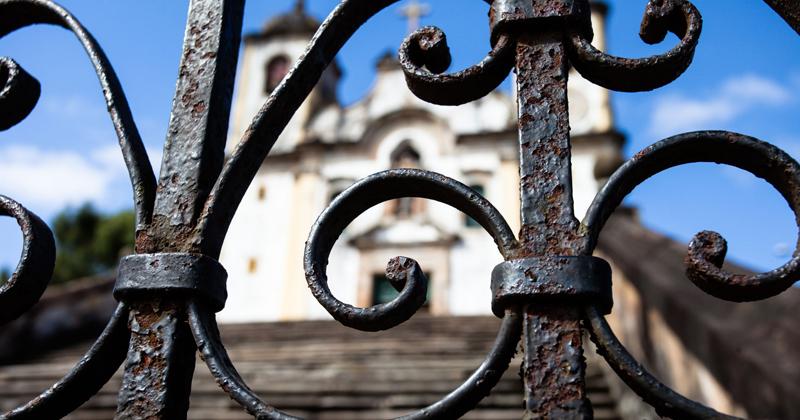 Igreja em Ouro Preto, Minas Gerais